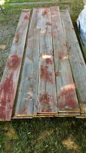 Top quality barn wood for sale. Grey board, brown board, beams!