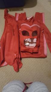 Pj Mask costume. Owlette. 3 pieces