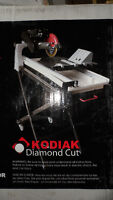 "10"" LASER GUIDED TILE SAW WITH STAND"