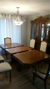 9 piece dinning room set