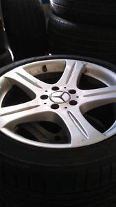 Mags mercedes 18 pneu Michelin