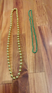 Jewelry. Different colors.  Necklaces