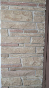 House stone...85 square feet. $5.00 per square foot