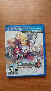 Disgaea 3: Absence of Detention PS Vita (Complete)