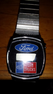 VINTAGE  COLLECTABLE DIGITAL  FORD  TRUCKS WATCH