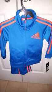 Adidas toddler sweater and track pants 2T