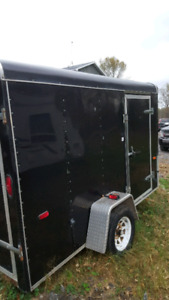 10x6 enclosed trailer. Looking to trade for 16' tandem