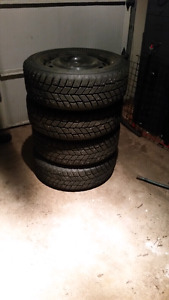 Winter Tires Hankook IPikes with Studs - 205/55/R16  $250 or OBO