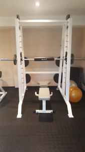 Gympak Free/squat Weight system for sale