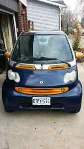 2005 Smart Fortwo cdi dieselCoupe (Blue)