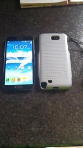 (UNLOCKED) 16GB SAMSUNG GALAXY NOTE 2 INCLUDE CHARGER + OTTER BO