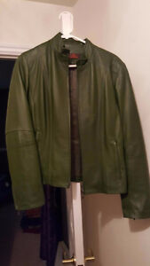 Like New Danier Leather Jacket Peterborough Peterborough Area image 1