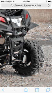 Brand new atv or side by side tires