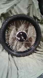 Motorcycle front wheel 90/90-21 .54S New