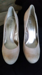 Soft leather GUESS Heels