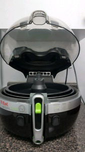 T-Fal ActiFry YV960151, 2-in-1 Large Air Fryer, Black.