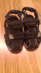Timberland sandals, size 8 for boy