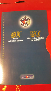 50th NHL ALL-STAR GAME STAMPS