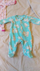 Baby Girl Newborn Sleepers