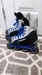Youth roller blades Kitchener / Waterloo Kitchener Area image 1