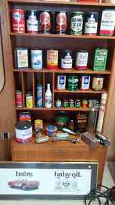 Vintage Gas and Oil Cans
