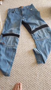 Motorcycle riding gear.  Mint and great value!