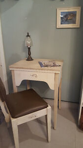Sewing Desk & Matching Chair