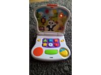 Laptop toy for toddlers