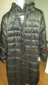 Geox Black Women Winter Coat