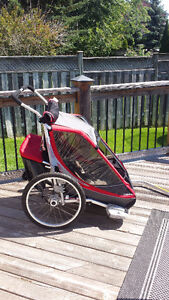 Double Seater Chariot Carrier - Nearly Brand New, Used Twice