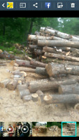 Mixed seasoned hard wood
