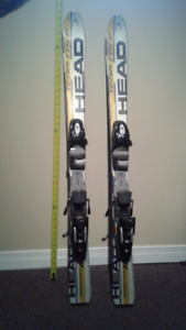 """43"""" kid's race skis good condition"""