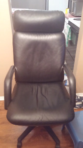 Leather office chair...priced to sell fast!