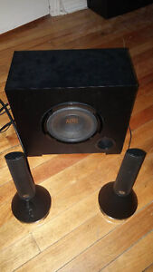 Altec Lansing Speakers and Sub-woofer