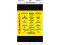 Leeds festival with return bus from Glasgow(Thursday-Monday) x2