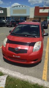 Toyota yaris 2008 en bonne condition,bas milage( 100 000km)