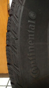 """Four 16"""" Continental Tires for sale: All Season (215/70/R16)"""