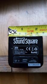 Bluetooth speaker: SOUND SQUARE juice