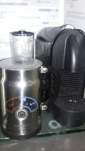 Nespresso Machine with Frother ,  Inissa Model