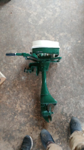 1970's 5.5 hp Vintage Sears Ted Williams Outboard Motor