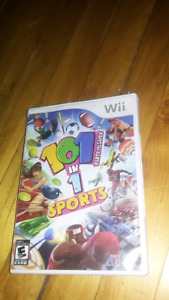 101 in 1 sports megamix Nintendo wii