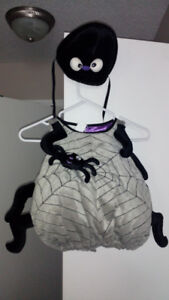 12-18m Spider Costume with hat