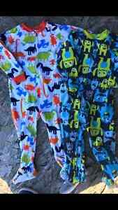 2 pyjamas carter 3 ans 10$ /2