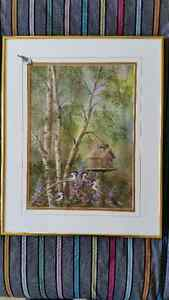 Original Signed Watercolor by Eileen Rackham