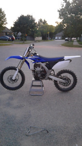 2013 yz250f looking to trade for 250 2 stroke!