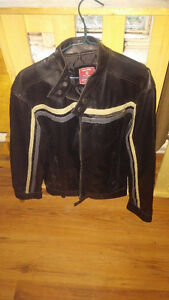 Jacket Simili-Cuir Neuf - Noir