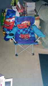 Cars kids chair with carrying bag London Ontario image 1
