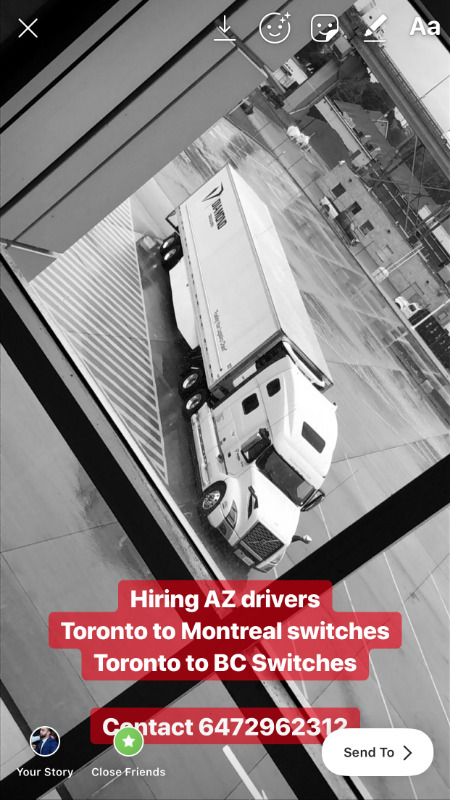 az drivers looking for work
