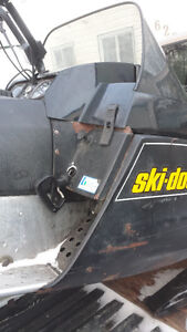 SKIDOO CITATION ALL TUNED UP READY FOR THE WINTER
