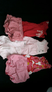12 month baby girl summer lot